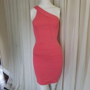 Marciano  cold shoulder banded dress